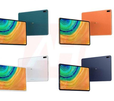 MatePad Pro : bientôt une tablette avec écran poinçonné chez Huawei