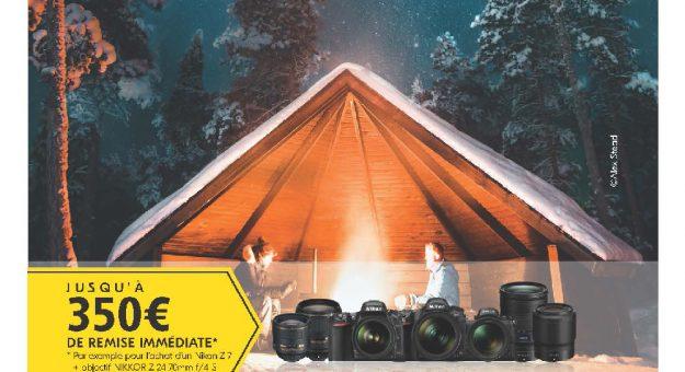 Nikon lance ses nouvelles offres de remboursement (Hiver 2019)