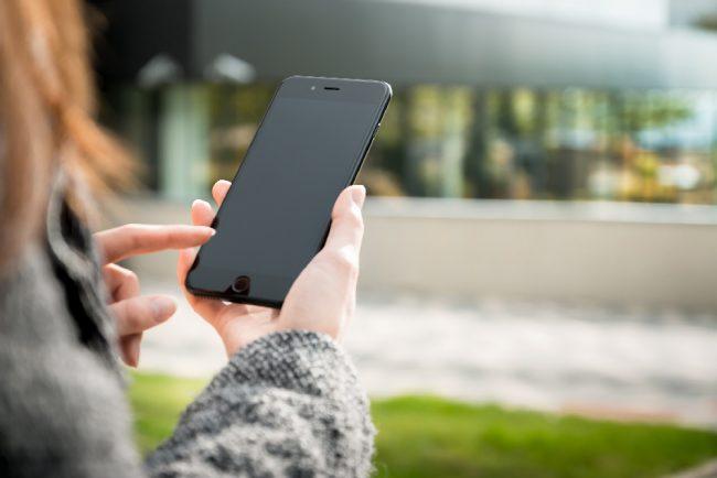 Smartphones mains