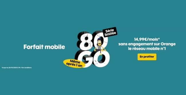 Sosh 80 Go série limitée