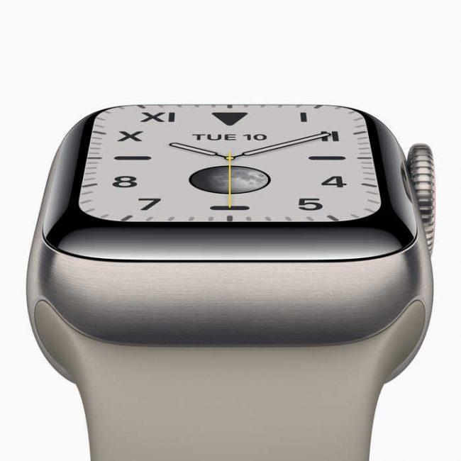 Test Apple Watch Serie 5