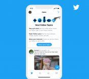 Twitter lance Topics pour suivre ses «centres d'intérêt» plus facilement