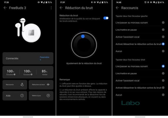 Huawei FreeBuds 3 application
