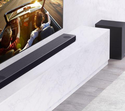 CES 2020 – Barres de son LG SN9YG et SN11RG : étalonnage intelligent, Google Assistant, Dolby Atmos…