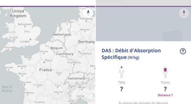 ANFR : L'application OpenBarres affiche désormais le DAS de votre smartphone