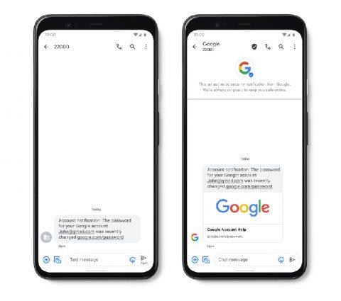 Messages : Google renforce la sécurité avec les SMS validés