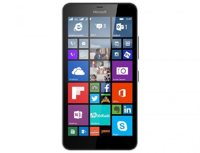 Le Lumia 640 XL © Microsoft