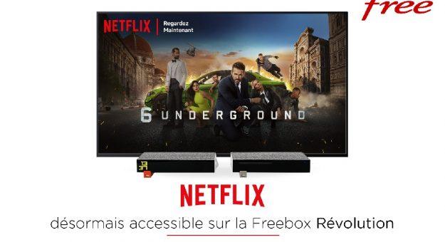 Netflix arrive en option sur la Freebox Révolution