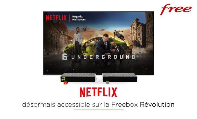 Netflix Freebox