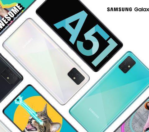 Samsung Galaxy A51 et A71 : quadruple capteur photo et écran Infinity-O