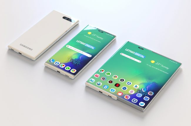 Smartphone extensible Samsung
