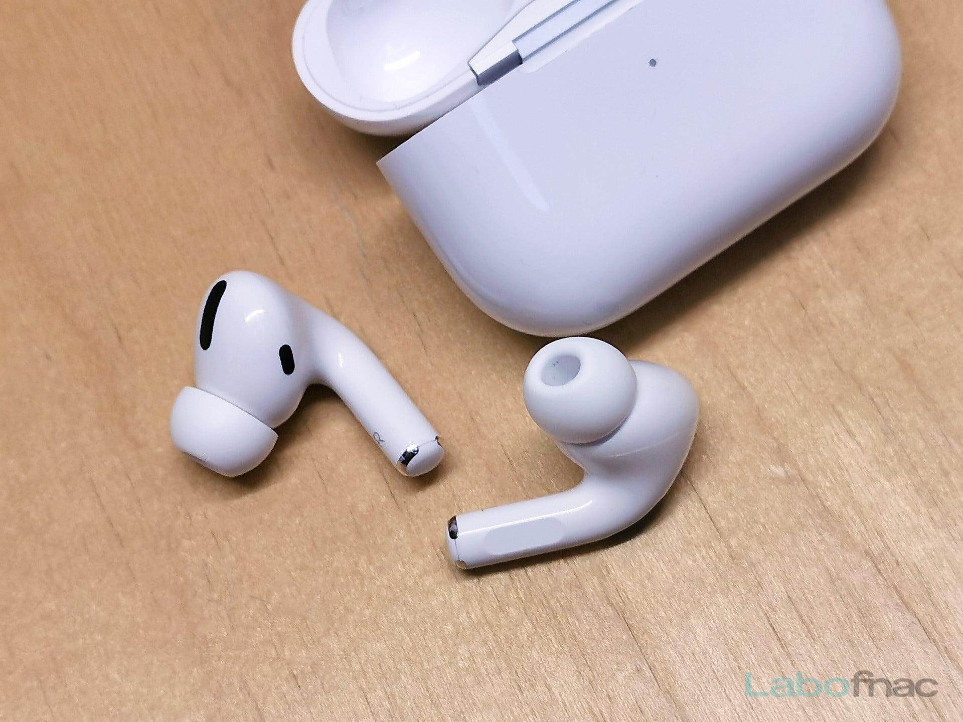 Test des Apple AirPods Pro : la réduction de bruit leur réussit