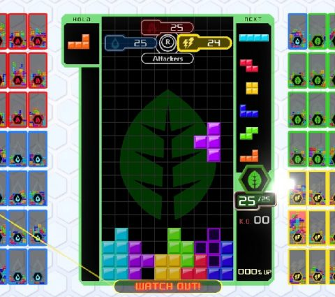 Tetris 99 : une mise à jour gratuite apporte le mode Bataille par équipes
