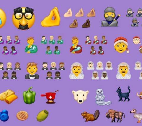 117 nouveaux emojis vont arriver sur nos smartphones en 2020