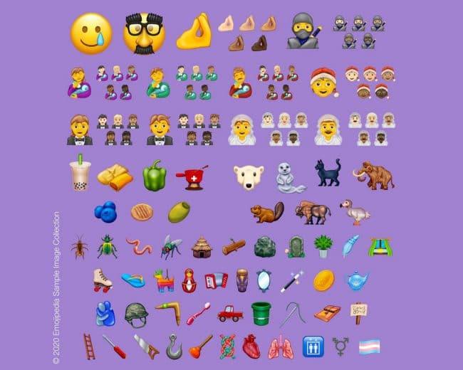 emojis 2020