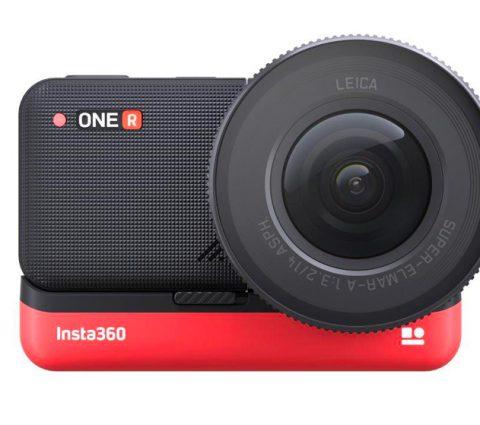 Avec Leica, Insta360 annonce l'actioncam One R