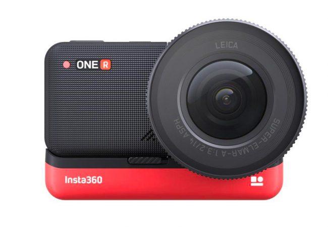 L'actioncam One R avec Mod Leica © Insta360 / Leica