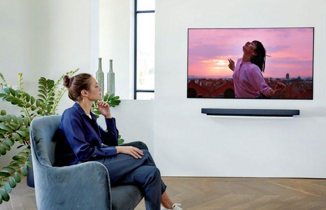 LG OLED TV WX