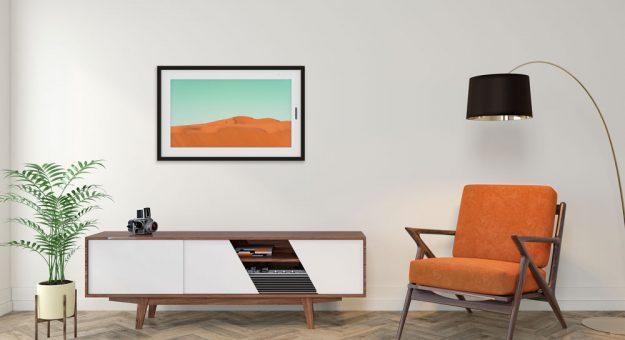 CES 2020 – Lenovo Smart Frame : un tableau connecté pour embellir les murs