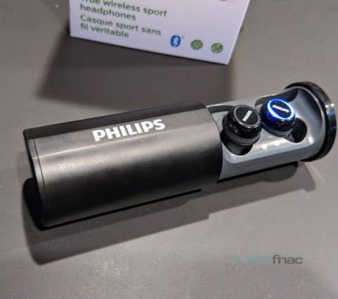 SH402, SN503 et ST702 : Philips lance une gamme complète d'écouteurs pour sportifs
