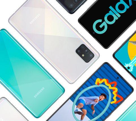 Les Samsung Galaxy A51 et A71 seront disponibles d'ici quelques semaines en France