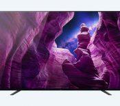 CES 2020 – Sony officialise les A8 et A9, ses TV OLED à partir de 48 pouces