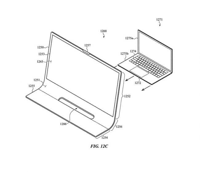Brevet Apple iMac