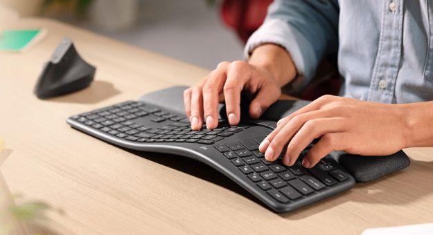 Logitech ERGO K860 : un clavier conçu pour réduire la tension musculaire