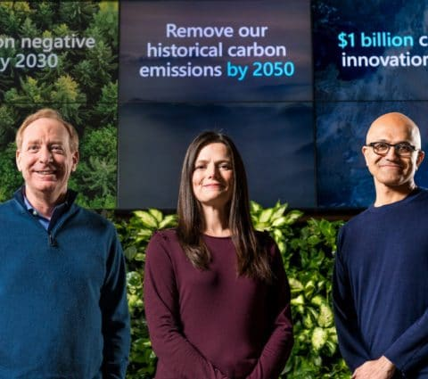 Microsoft veut avoir un bilan carbone négatif d'ici 2030