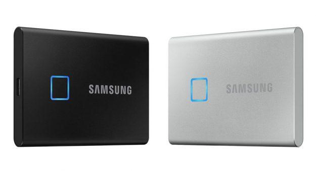 CES 2020 – Samsung dote son SSD externe T7 d'un lecteur d'empreintes