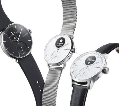 CES 2020 – Withings ScanWatch : une montre pour détecter l'apnée du sommeil