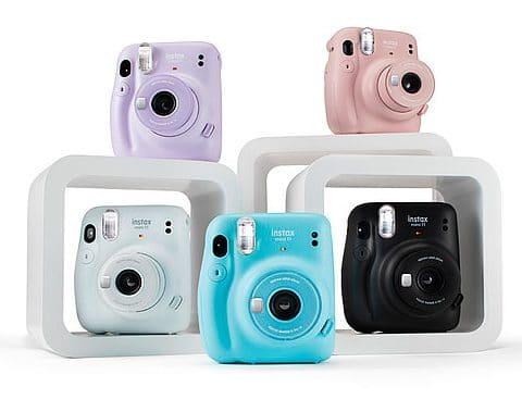 Fujifilm Instax Mini 11 : le nouvel instantané joue la carte du selfie