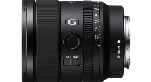 Sony FE 20 mm f/1,8 G : un nouvel ultra grand-angle pour hybrides 24×36