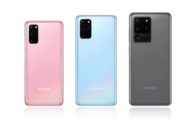 Gamme Samsung Galaxy S20