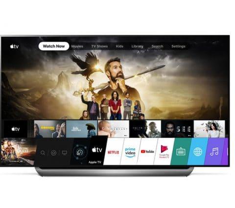 LG dote ses téléviseurs 2019 de l'application Apple TV