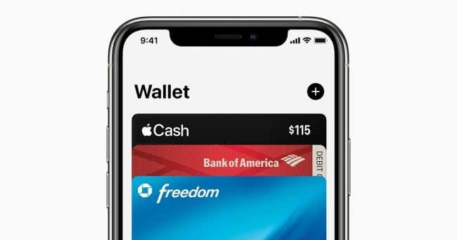 Application Wallet pour iOS
