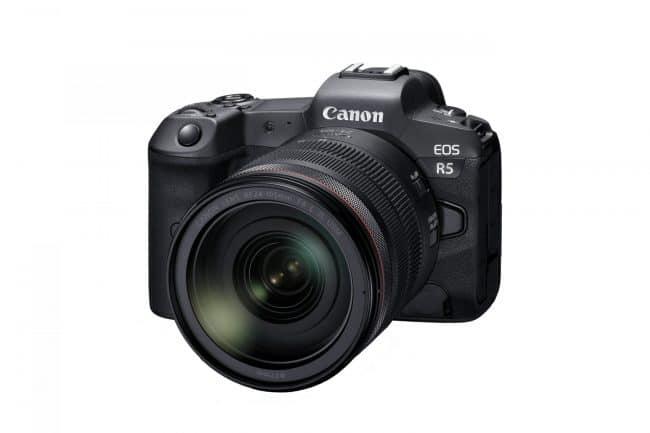 Canon EOS-R5 avec optique 24-105 mm