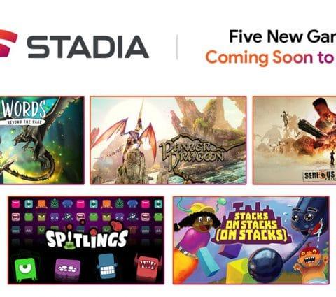 Google Stadia se prépare à accueillir cinq nouveaux jeux