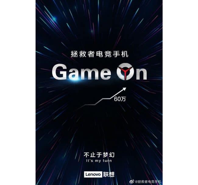 Lenovo Legion smartphone gaming