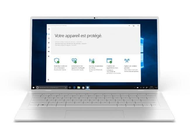 L'antivirus Windows Defender sur PC © Microsoft