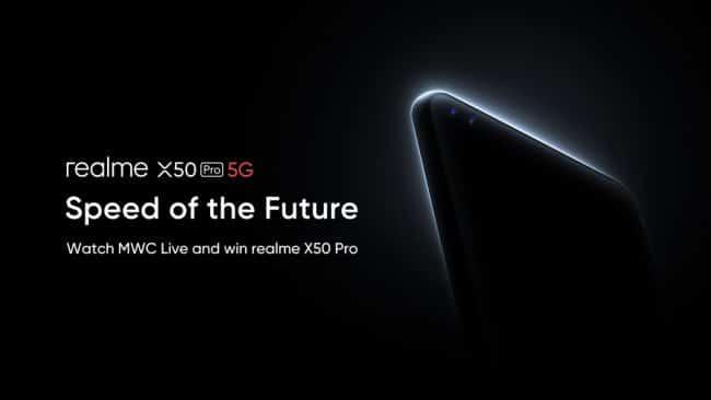 Lancement realme X50 Pro 5G
