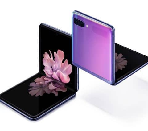 Galaxy Z Flip : le smartphone pliable de Samsung apparaît dans une vidéo
