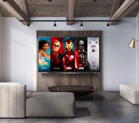 Disney+ : les Smart TV (Tizen, webOS) sont prêts pour le 7 avril
