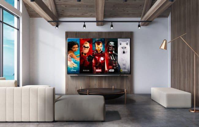 LG Disney+ sur webOS