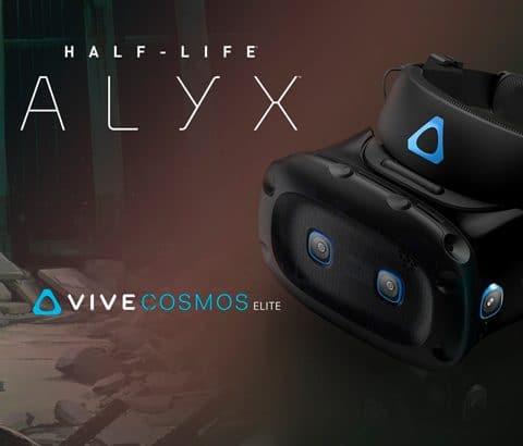 HTC Vive Cosmos Elite : le jeu Half-Life Alyx offert avec le casque