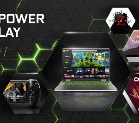 GeForce Now : des nouveaux jeux tous les jeudis pour le service de Nvidia