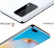 Huawei P40, P40 Pro et P40 Pro+ : caractéristiques, date de sortie et prix