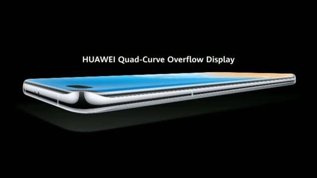 Présentation des Huawei P40