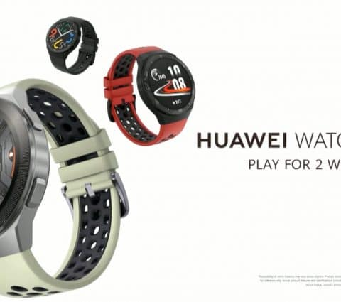 Huawei Watch GT 2e : une déclinaison plus sportive