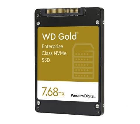 Western Digital pense aux entreprises avec ses SSD NVMe WD Gold